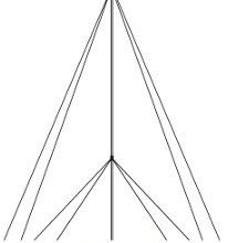 Primus Wind Power 29 Foot AIR Guyed EZ Tower Kit With Pole