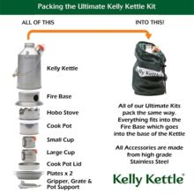 Ultimate Stainless Steel Scout Kit