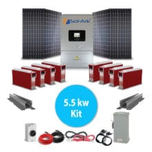 small diy solar kit sol-ark