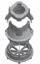 FlowSleeve 1 1/4 inch pump sleeve