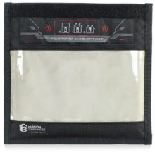 The Mission Darkness™ Window Faraday Bag for Phones