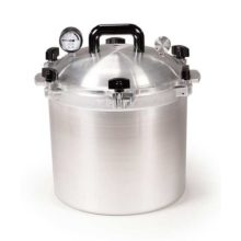 Stovetop Autoclave Sterilizer (17.6 Qt Inner Container Capacity)